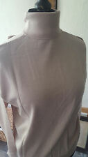Ladies Classic Polo Neck Jumper 100% Merino Wool -Various Colours (new not worn)