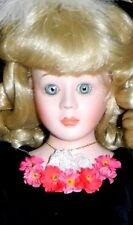 "Goebel Betty Jane Carter 1989 LE #d TAMARA Musical Moon River 18"" Porcelain Doll"