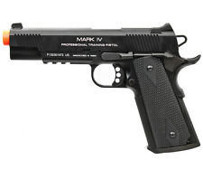 KWA Full Metal M1911 MK IV NS2 Gas Blowback Pistol Airsoft Gun