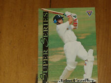 CRICKET - JOHN CRAWLEY - *RARE-  FUTERA SUPER SERIES CARD - 1994 MINT