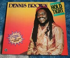 DENNIS BROWN HOLD TIGHT 1986 UK LP LIVE & LEARN RECORDS LL LP 21