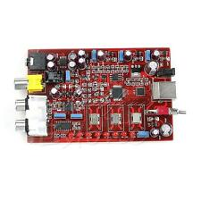 384KHZ/32bit Original XMOS+ PCM5102 + TDA1308 USB Decoder Board USB DAC  New