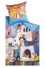 Rosina Wachtmeister Bettwäsche Little Town  135x200+80x80cm