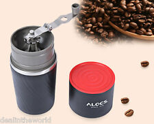 ALOCS Stainless Steel Manual Hand Coffee Grinder Camping Home Grinding Equipment