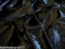 Top Quality Crushed Velvet Fabric Craft Stretch Velour 150 cm Material £2.99 mtr