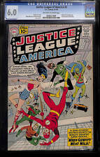 DC - Justice League of America (1960) # 5 - CGC 6.0 OW/White Pages Blue Label