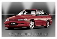 VN SS GROUP A COMMODORE TIN SIGN  VK GROUP A COMMODORE  TIN SIGN 20X30 cm  small