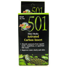 ZOO MED 501 CARBON BAG TURTLE REPLACEMENT INSERT ACTIVATED FREE SHIP IN THE USA