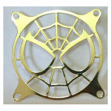80mm Spiderman (Gold) Laser Cut Steel  Fan Grill