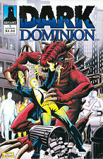 Dark Dominion #1, Defiant Comics, October 1993, $2.50 cover, Joseph A. James art