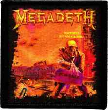 39183 Megadeth Heavy Metal Rock Skeleton Peace Album Sells Cover Iron On Patch