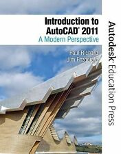 INTRODUCTION TO AUTOCAD 2011 - JIM FITZGERALD PAUL RICHARD (PAPERBACK) NEW