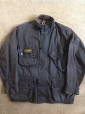Mens Barbour International Wax Coat, Medium