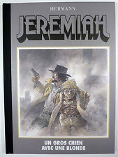 Jérémiah Un gros chien avec une blonde Tirage limité + 1 ex-libris Hermann TTBE
