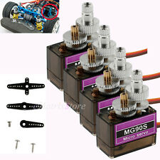 4X 9g Micro MG90S Metal Gear High Speed Servo for RC Helicopter Plane Car Racing