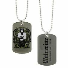 Official Marvel Comics Wolverine Origins Double Sided Dog Tag - Silver Steel