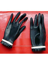 100% Latex Rubber Gummi 0.45mm Gloves Glove Suit Catsuit Handmade