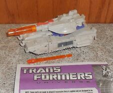 Transformers Universe GALVATRON Complete Hasbro Challenge at Cybertron Figure