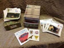 "1991 ATLAS EDITION ""Classic Cars"" Collector Cards Approx 630 Cards In Rare Case"