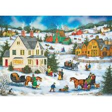 MASTERPIECES HEARTLAND JIGSAW PUZZLE HOLIDAY DINNER GUEST BONNIE WHITE 1000 PCS