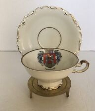 W. Weitz Hannover Demitasse Cup And Saucer