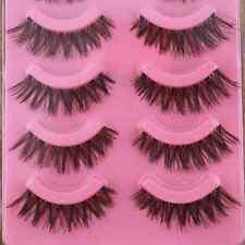 5 Pair Sparse Cross Eye Lashes Extension Beauty False Eyelashes Thickening