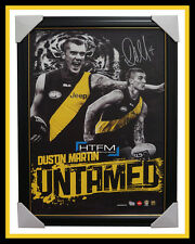 Dustin Martin Signed Richmond Untamed OFFICIAL AFL Print Framed + AFL COA NEW
