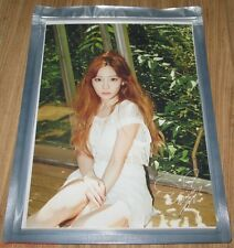 TAETISEO GIRLS' GENERATION Holler TAEYEON AUTOGRAPH PHOTO SM LOTTE POP UP GOODS