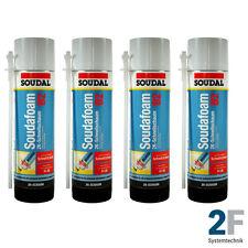 SOUDAL 2K B2 Montageschaum Zargenschaum Schaum 4 x 400 ml
