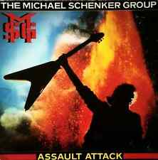 THE MICHAEL SCHENKER GROUP - Assault Attack (LP) (VG+/G)