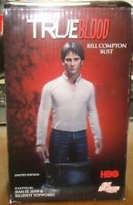 """True Blood Bill Compton Bust HBO DC Unlimited  6.75"""" High"""