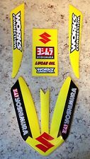 2010-2017 Suzuki RMZ250 RMZ450 FRONT FENDER DECAL Graphics FX DC SPLIT YOSHIMURA