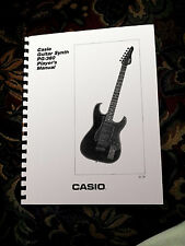 CASIO PG-380 / PG380  Owners / Instructions booklet - Comb Bound