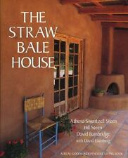 The Straw Bale House (A Real Goods Independent Living Book)-ExLibrary