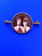 King George V & Queen Mary Coronation Badge 1911
