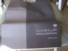 VINTAGE  ROYAL JORDANIAN AIRLINE LARGE PAPER BAG