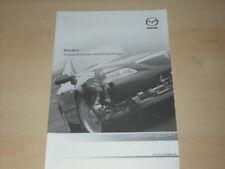 45991) Mazda 6 - technische Daten & Ausstattung - Österreich Prospekt 02/2004