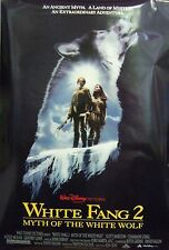 White Fang 2 Myth of the White Wolf Original Double Sided Movie Poster 1994
