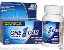 NEW ONE-A-DAY MEN'S FORMULA MULTIVITAMIN MINERALS SUPPLEMENT OVERALL BODY CARE