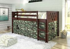 Tent Kit for Low Bunk Beds in Camoflauge