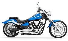 Freedom Performance Sharp Curve Radius Chrome Exhaust - Yamaha Raider _MY00083
