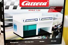 1/32 Pit Box Carrera Slot car track building Ref 21104.