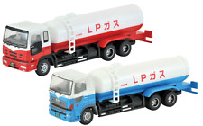 N gauge 2 gas tank trucks set Tomytec 229568 Tomix Japan Isuzu Hino