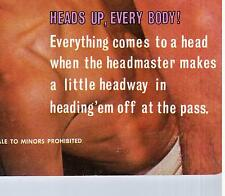 "MAGAZINE ""FOR YOUNG HEADS ONLY 1/1"" (1965-70) VINTAGE / GAY INTEREST"