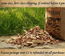 NOW OFFER ON PLUM wood for smoking food, bbq smoking wood chips 1.5L BUY 2 GET 3