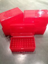 (2) 243 308 7.62x39 22-250 6mm 30 30 300 RED BERRYS AMMO BOX 50 ROUND MPN 409