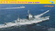 NEW Cyber Hobby 1/700 USS Long Beach CGN-9 1980 7135