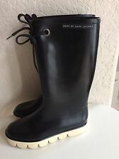 Women's Marc by Marc Jacobs Black Rain Boots size 39 or US 8