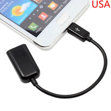 Micro USB B Male to USB 2.0 A Female OTG Adapter Converter Cable for smartphone