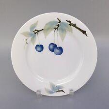 Rosenthal Donatello blaue Kirsche Kuchenteller  UNBENUTZT (D)